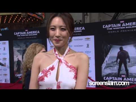 Captain America: The Winter Soldier Exclusive Premiere with Soo-hyun Kim