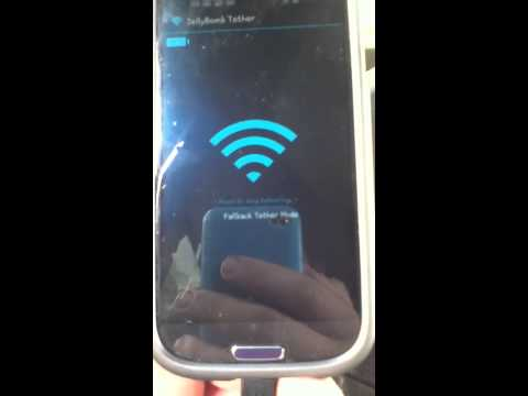 FREE WIFI Tether / Hotspot App: Samsung Galaxy S3 Jelly Bean