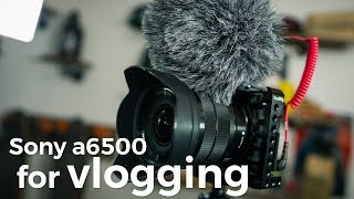 Sony a6500 Vlogging Review: The 1DX Mk II for Poor People not Named Peter McKinnon