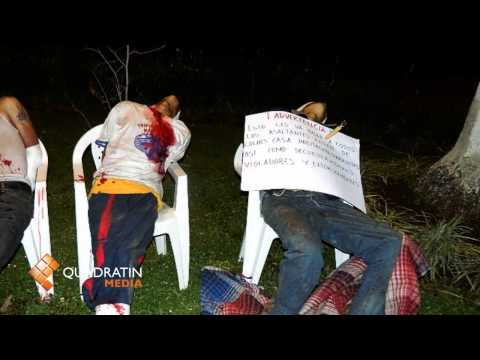 Con tiro de gracia, los 7 asesinados en Uruapan