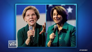 New York Times Endorses Warren, Klobuchar, Part 1 | The View