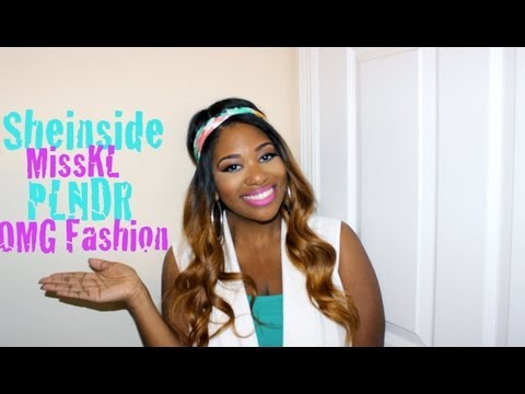 Haul/Review | SHEINSIDE, PLNDR, Miss KL & OMG Fashion!