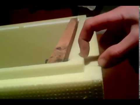 Технология изготовление улья из пенополистирола
