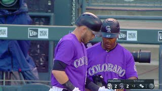 7/17/17: Rockies' offense puts up nine on way to win