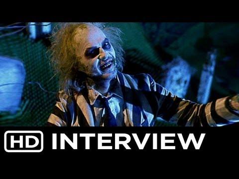 Beetlejuice 2 Exclusive [HD] Tim Burton Speaks!
