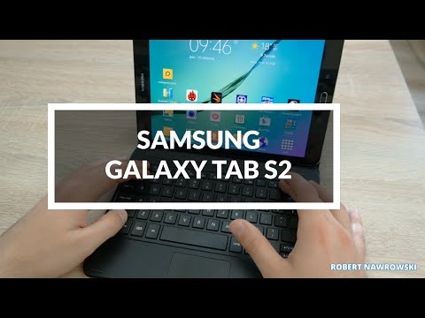 Samsung Galaxy Tab S2 Book Cover Keyboard PL - Klawiatura Bluetooth