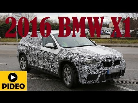 2016 BMW X1, has just been spied testing in Germany once more
