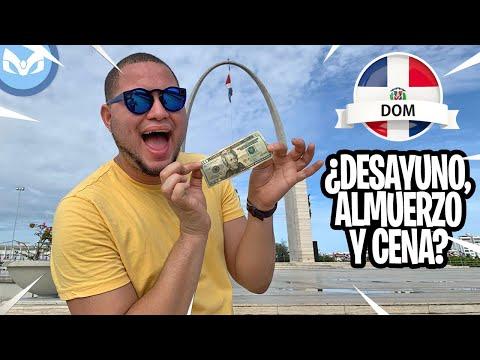 COMIENDO CON $20 DOLARES POR UN DIA EN REPUBLICA DOMINICANA
