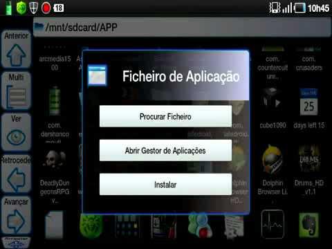Como instalar um apk no Android?