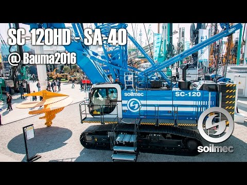 SC-120 HD with SA-40 at bauma 2016