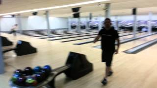 Steve Meyer Bowling a 299 Game Wearing Beats By Dre