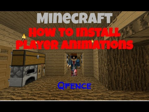 How To Install Minecraft Player Animations Mod 1.5.2