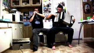 Sweet By and By - Mouth Organ and Piano Accordion Duet