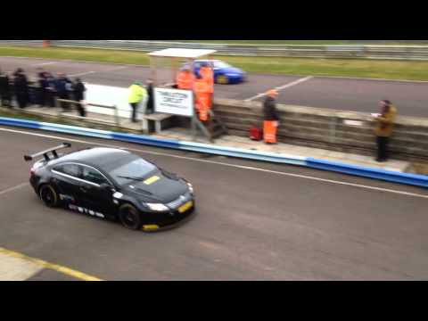 Thruxton test 19/2/15 Colin Turkington VW CC