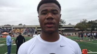 Mustapha Muhammad will be keeping a close eye on LSU's spring game