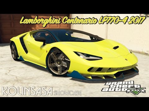 Lamborghini Centenario LP770-4 2017 [add-on]
