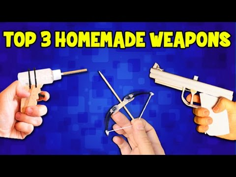 Top 3 Homemade Weapons | DIY Weapons thumbnail