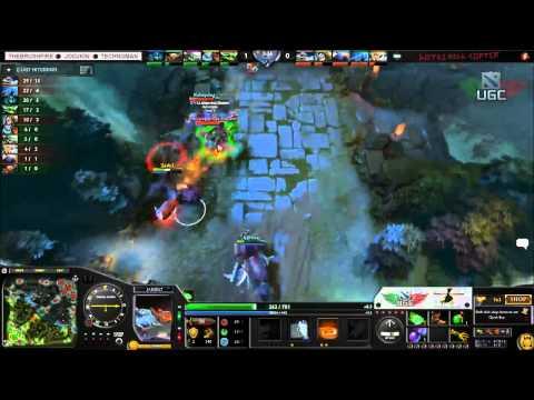 Envy.US vs. Lamperkat +4 rude dudes UGC Western Invite Game 1 - Casted by Brushfire