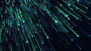4k Blue Particle Fall Down Abstract Animated Motion Video Background