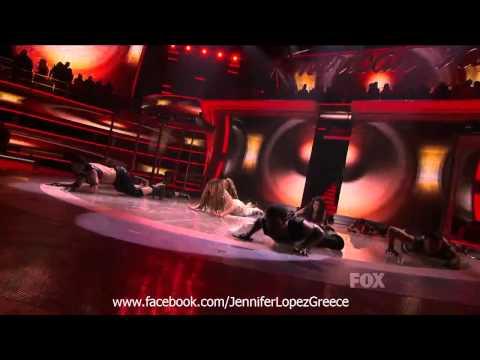 Jennifer Lopez - On The Floor (ft. Pitbull) (Live @ American Idol 2011)