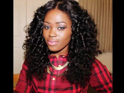 Gorgeous Curls: Flexi rod Set on Magic Hair Company Brazilian Curly Hair