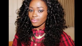 Gorgeous Curls: Flexi rod Set on Magic Hair Company Brazilian Curly Hair