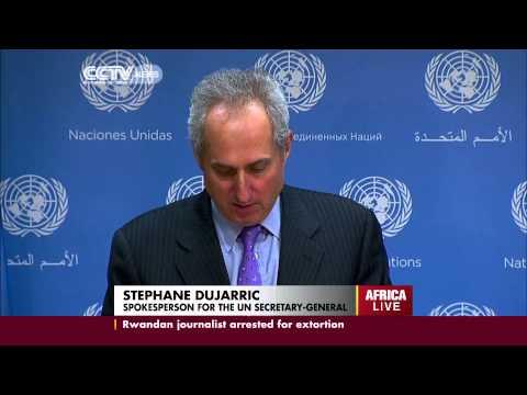 UN Base In Bor Town South Sudan Attacked