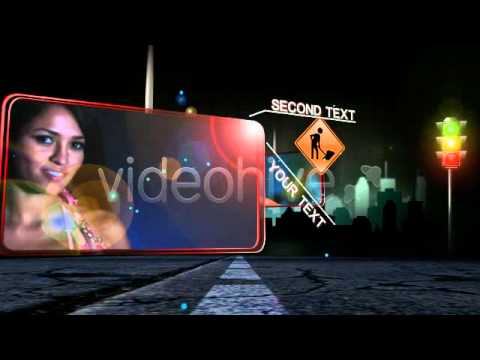 After Effects Street Lights Template Download Free  (Adobe After Effects Template) thumbnail