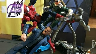 Spider-man Stop Motion- Spiderman vs Doc Ock Stop Motion