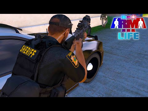 Arma 3 Life Police #53 - Girlfriend Attempts to Kill Officer