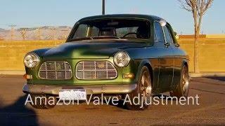 1967 Volvo Amazon B18D valve adjustment VoTD Jan15