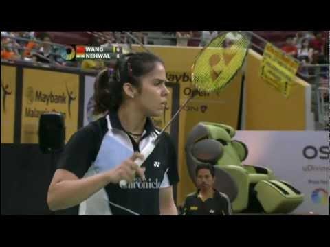 SF - WS - Wang Yihan vs Saina Nehwal - 2012 Maybank Malaysia Open