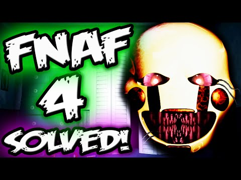 Fnaf 4 puppet secret puppet s hidden text five nights at freddy