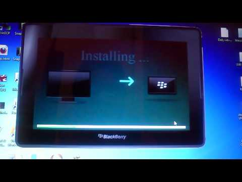 Como instalar aplicaciones de Android (formato BAR) en la Blackberry Playbook