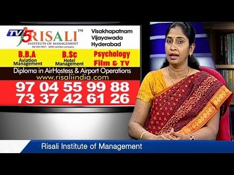 Aviation and Hotel Management Courses at Risali Institute of Management | Study Time | TV5 News