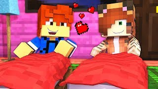 Sleep Over At My GIRLFRIEND'S House !? - Daycare (Minecraft Roleplay)