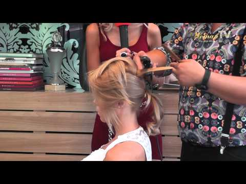Hairstyling: ep.8 Coafura de club (partea a doua)