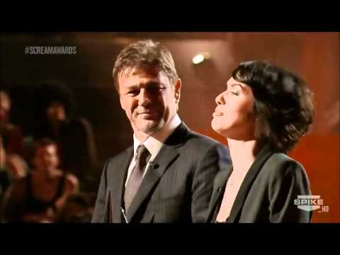 Sean Bean and Lena Headey at the Scream Awards
