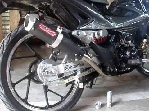 Tencut Racing Pipe For Kawasaki Fury 125 Youtube