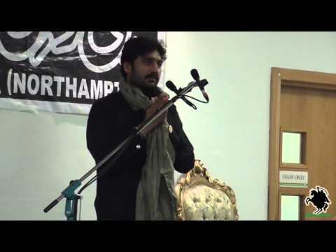 Zakir Waseem Abbas Baloch - Shahadat Bibi Fatima (s.a) - Northampton (uk) - 3rd August 2014 video