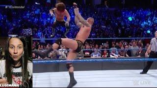 WWE Smackdown 3/7/17 Randy Orton vs AJ Styles