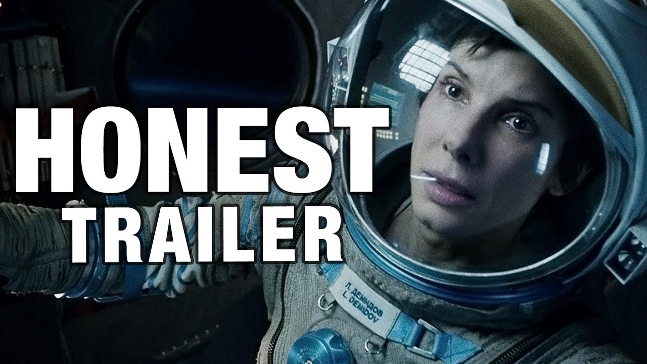 El honesto trailer para Gravity