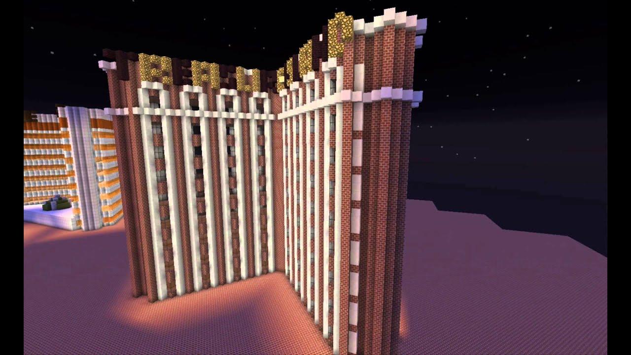 Las Vegas In Minecraft Part 3 Upper Strip Youtube