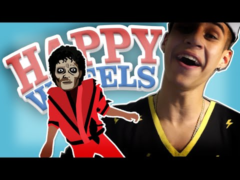 MICHAEL JACKSON É UM ZUMBI - Happy Wheels