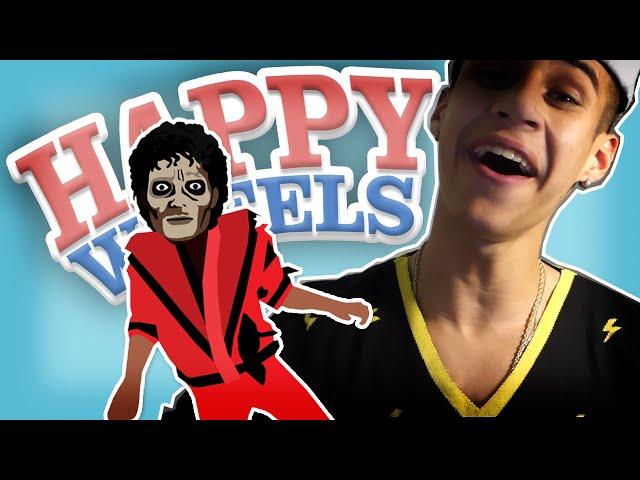 MICHAEL JACKSON É UM ZUMBI - Happy Wheels