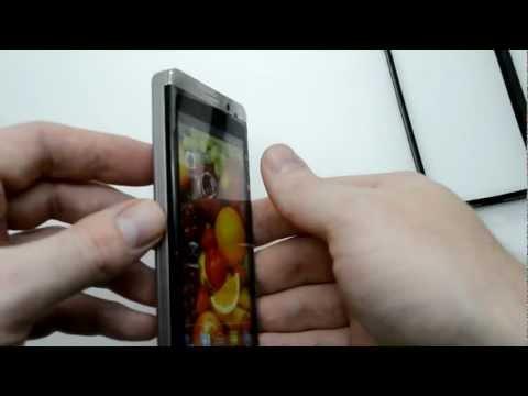 JIAYU G3 видео обзор китайского телефона на русском MTK6577