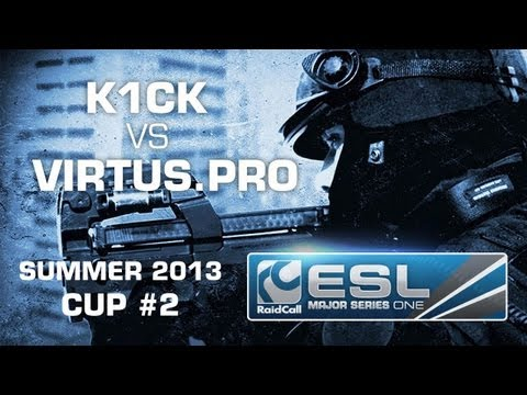 k1ck eSports Club vs Virtus.pro - Cup #2 - RaidCall EMS One Summer 2013