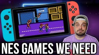 10 NES Games We NEED on Nintendo Switch Online! | RGT 85