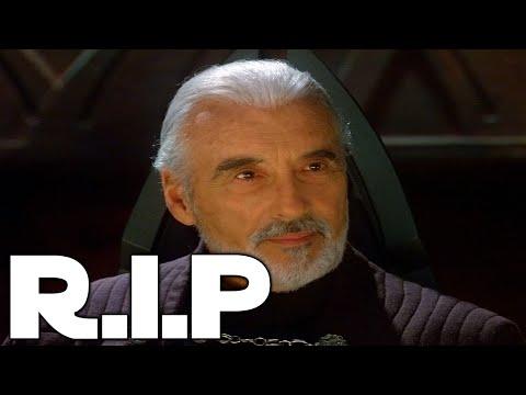 Sir Christopher Lee Tribute R.I.P [Saruman & Count Dooku]