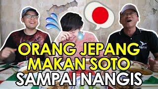 SOTO TERENAK Bikin Orang Jepang Nangis Makan Soto Tangkar Legendaris | ft. Genki Comedian